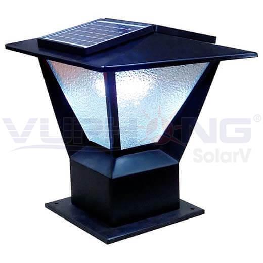 Solar Outdoor Post Cap Light