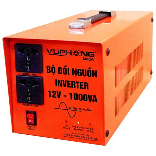 True Sine Wave Inverter 12V-1000VA