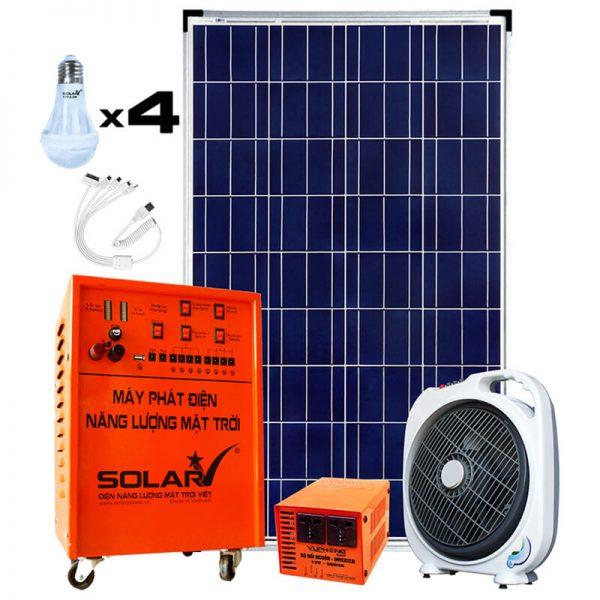 Combo 100 Solar Generator Kit