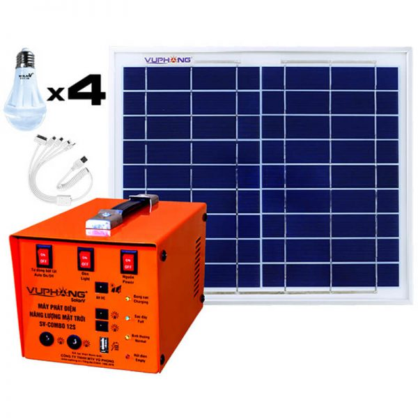 Combo 12S Solar Power Pack Kit