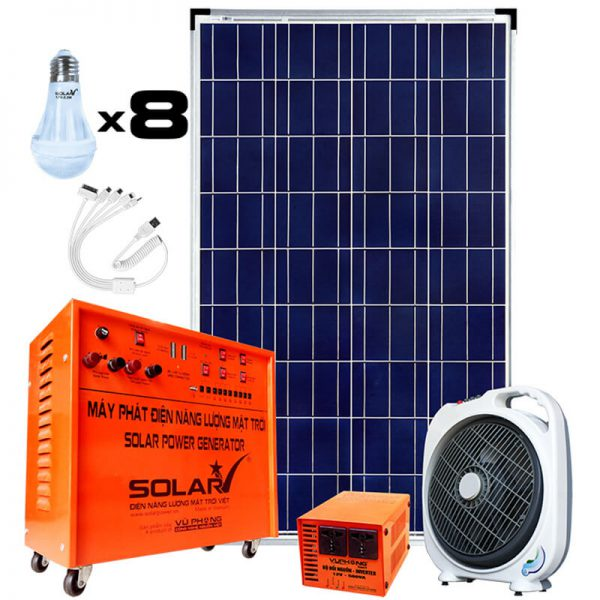 Combo 200 Solar Generator Kit