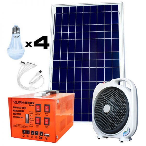 Combo 35S Solar Power Pack Kit