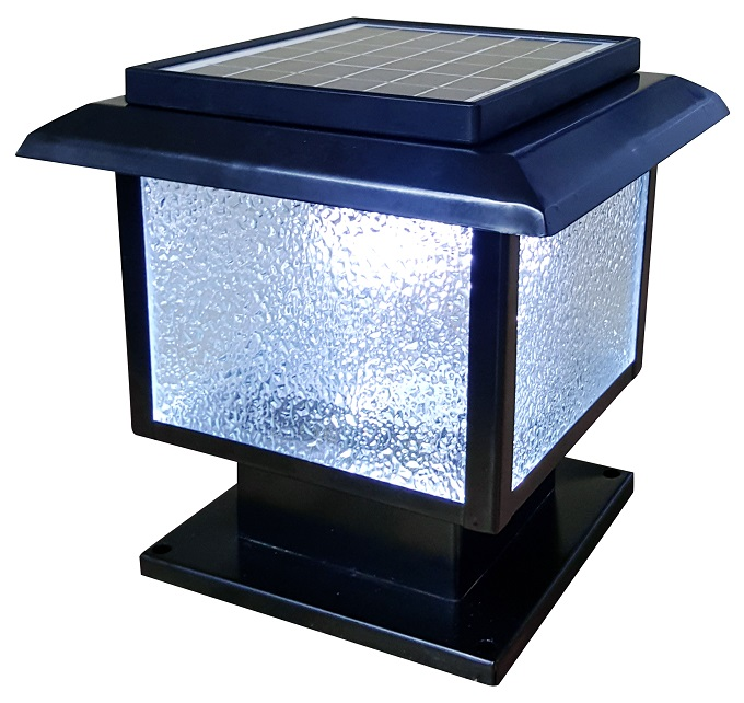Solar Outdoor Post Cap Mini Light